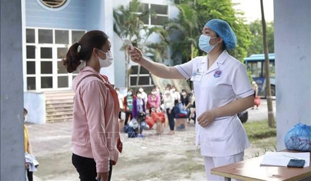 COVID-19: Confirma 111 nuevos infectados en Vietnam hinh anh 1
