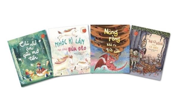 """VNA otorga premios artisticos infantiles """"El Grillo"""" hinh anh 1"""
