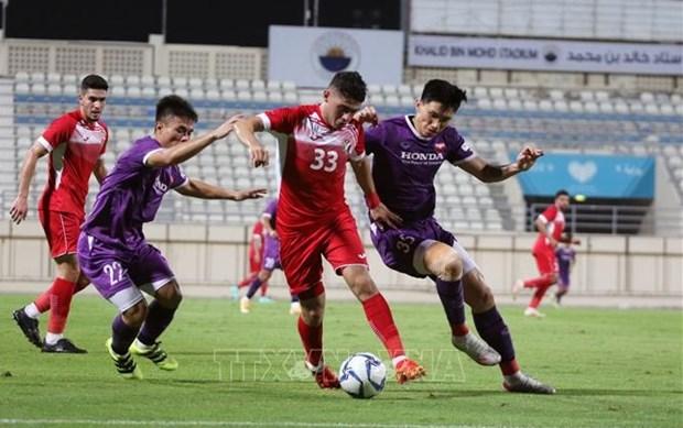 Entrenador de Jordania valora partido amistoso de futbol con Vietnam hinh anh 1