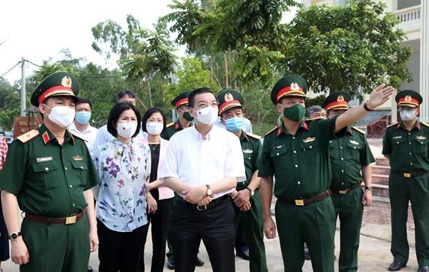 Hanoi decidida a reducir riesgo de infeccion cruzada en areas de cuarentena hinh anh 1