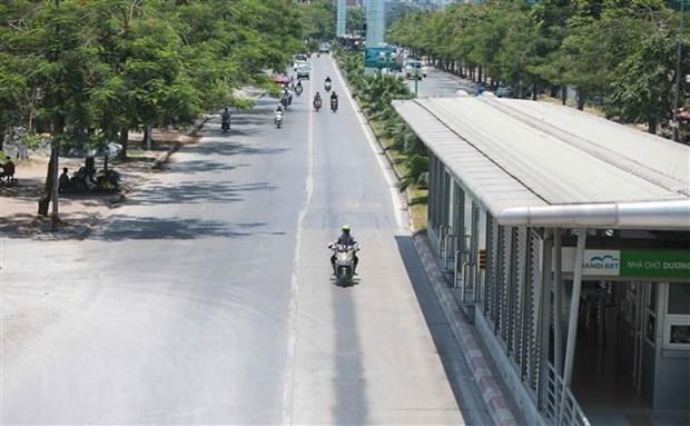 Vietnam enfrenta ola de calor en primeros dias de junio hinh anh 1