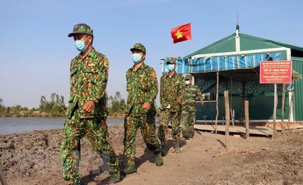 Ejercito de Vietnam toma riendas en la lucha contra la pandemia hinh anh 1