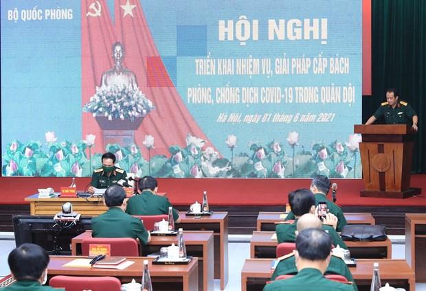 Ejercito de Vietnam toma riendas en la lucha contra la pandemia hinh anh 2