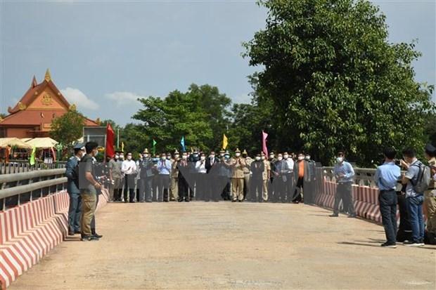Abren nuevo par de puertas fronterizas entre Vietnam y Camboya hinh anh 1