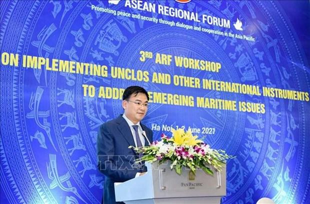 Destaca Vietnam papel de UNCLOS de 1982 para la paz en la region hinh anh 1