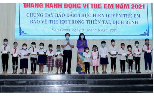 Amplias actividades en Vietnam por el Dia Internacional del Nino hinh anh 1