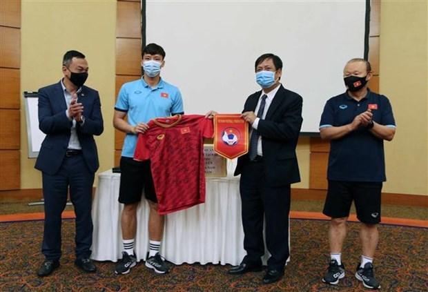 Embajador vietnamita anima a la seleccion nacional de futbol de cara a eliminatorias mundialistas hinh anh 1