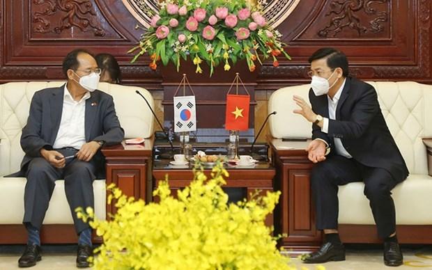 Provincia vietnamita de Bac Giang reafirma apoyo a empresas surcoreanas hinh anh 1