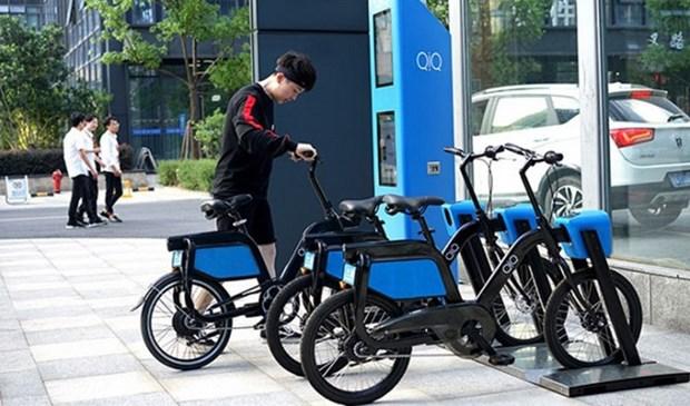 Hanoi pondra a prueba transporte de dos ruedas conectado a autobuses hinh anh 1