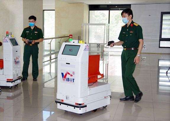 Ofrecen robots contra el COVID-19 para la provincia vietnamita de Bac Giang hinh anh 1