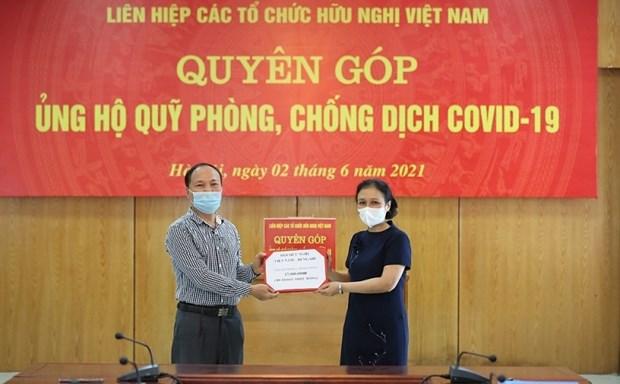 Convoca VUFO de Vietnam donacion para fondo antiCOVID-19 hinh anh 1