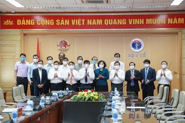 Vietnam establece Comite administrativo del fondo de vacunas antiCOVID-19 hinh anh 1