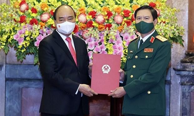 Nguyen Tan Cuong nombrado al Jefe del Estado Mayor General del Ejercito Popular de Vietnam hinh anh 1