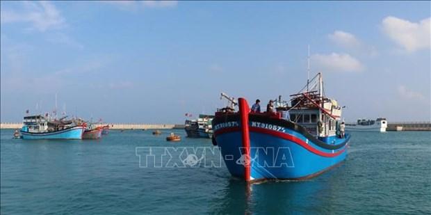 Servicios logisticos pesqueros en archipielago vietnamita de Truong Sa hinh anh 1