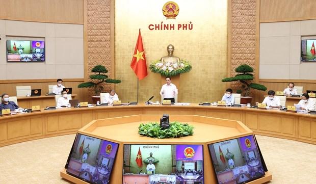 Primer ministro de Vietnam pide medidas mas drasticas contra el COVID-19 hinh anh 1