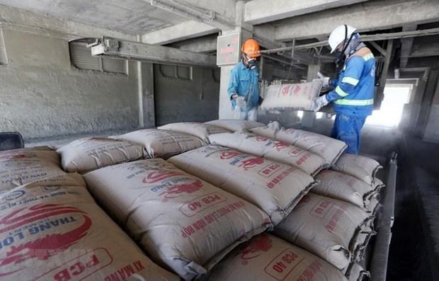 Exportaciones de cemento de Vietnam aumentan 50 por ciento hinh anh 1