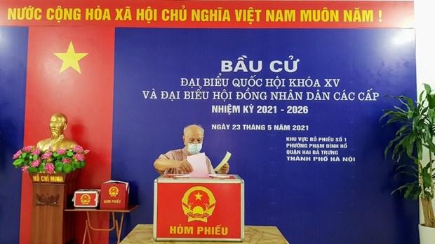 Efectuan tercera reunion del Subcomite del Personal del Consejo Electoral Nacional hinh anh 1
