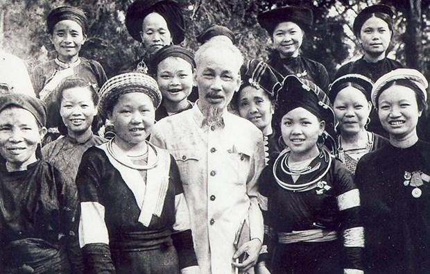Realizan exposicion sobre seguimiento del ejemplo moral y pensamiento de Ho Chi Minh hinh anh 1