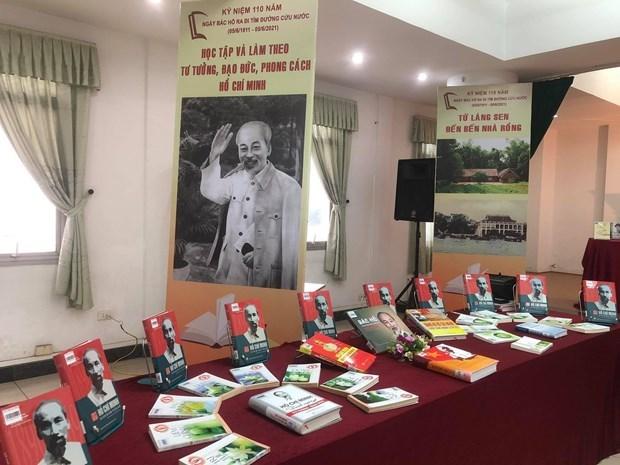 Exhiben libros y periodicos sobre Presidente Ho Chi Minh hinh anh 1
