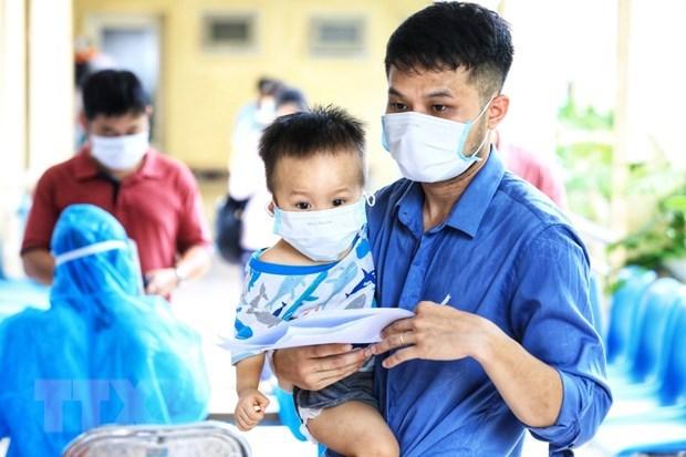 Permiten cuarentena domiciliaria para ninos infectados del COVID-19 en provincia de Bac Giang hinh anh 1