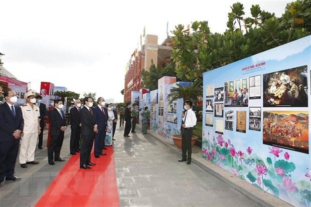 Ciudad Ho Chi Minh celebra 110 aniversario del viaje del Tio Ho al exterior hinh anh 1