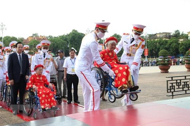 Suspenden visitas al Mausoleo del Presidente Ho Chi Minh por mantenimiento hinh anh 1