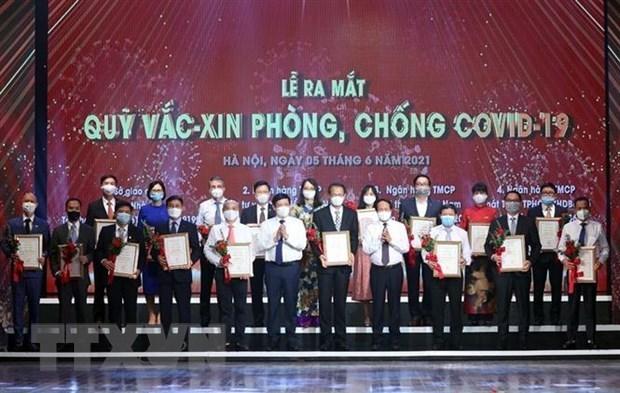 Organizaciones internacionales elogian iniciativa de fondo de Vietnam para vacuna contra COVID-19 hinh anh 1