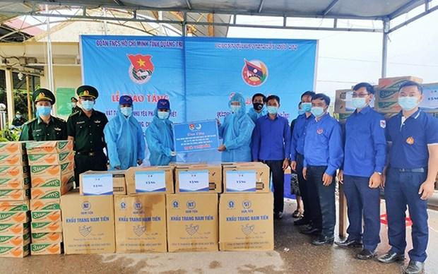 Provincia vietnamita entrega suministros medicos a Laos para combatir COVID-19 hinh anh 1