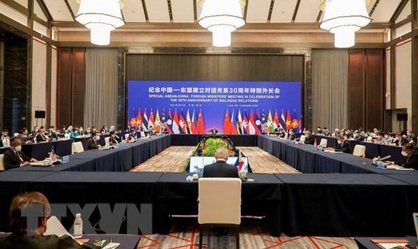 Reitera Vietnam apoyo a cooperacion ASEAN-China hinh anh 1