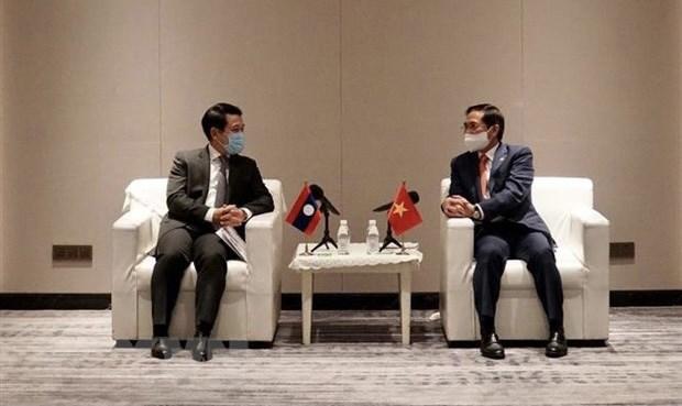 Estrechan lazos bilaterales entre Vietnam y Laos hinh anh 1