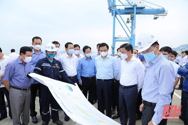 Provincia vietnamita de Thanh Hoa y PetroVietnam fomentan nexos de cooperacion hinh anh 1