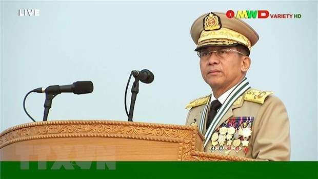 ASEAN apoya busqueda de solucion pacifica en Myanmar hinh anh 1