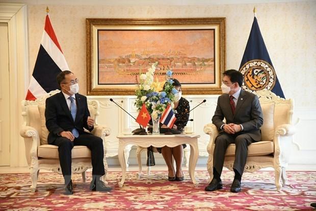 Destacan fuerte crecimiento de cooperacion economica entre Vietnam y Tailandia hinh anh 1