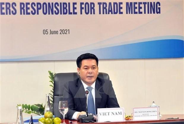 Vietnam pide a APEC garantizar eficiencia de cadenas de suministro hinh anh 1