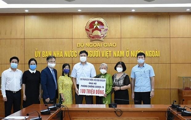 Vietnamita en Hungria contribuye al combate contra COVID-19 en su pais natal hinh anh 1