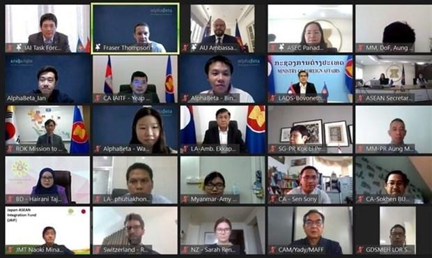 Efectuan Foro sobre Iniciativa para la integracion de ASEAN 2021-2025 hinh anh 1
