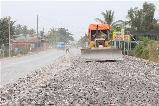 Provincia vietnamita de Ben Tre invertira fondo multimillonario en infraestructura de transporte hinh anh 1