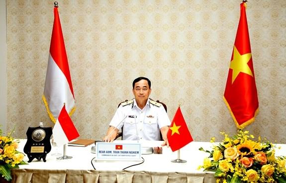 Armadas de Vietnam e Indonesia fortalecen cooperacion hinh anh 1