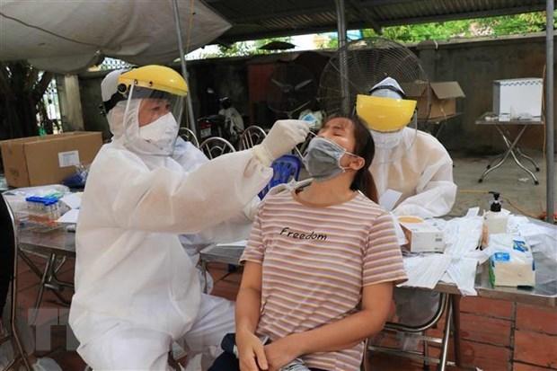 Vietnam reporta 55 casos nuevos del COVID-19 hinh anh 1