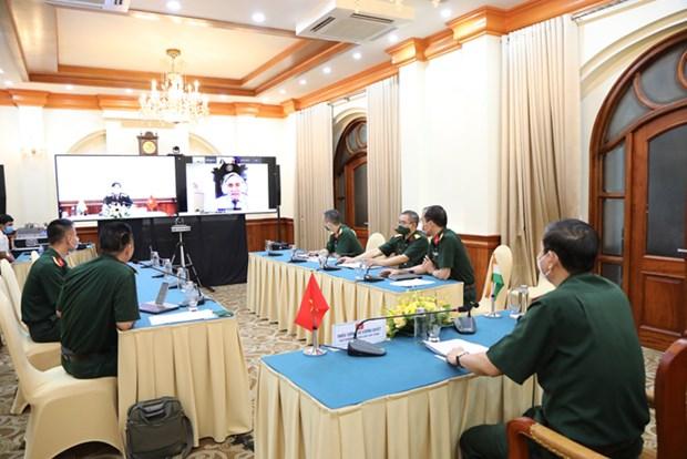 Efectuan seminario cientifico virtual sobre nexos en defensa entre Vietnam y la India hinh anh 1