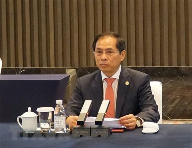 Vietnam asiste a sexta reunion ministerial de cooperacion Mekong-Lancang hinh anh 1
