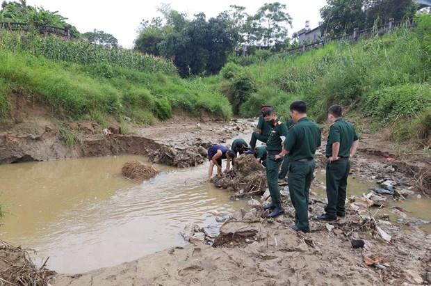 Descubren tres bombas remanentes de guerra en ciudad vietnamita Tuyen Quang hinh anh 1