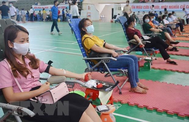 Programa humanitario busca recolectar 100 mil unidades de sangre en Vietnam hinh anh 1