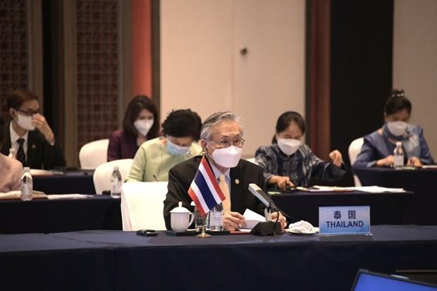 Tailandia busca promover cooperacion Mekong-Lancang hinh anh 1