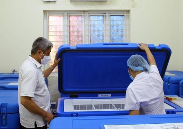 UNICEF suministra refrigeradores especiales para preservar vacunas en Vietnam hinh anh 1