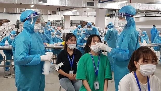 COVID-19: Detectados 70 nuevos contagios en Vietnam hinh anh 1