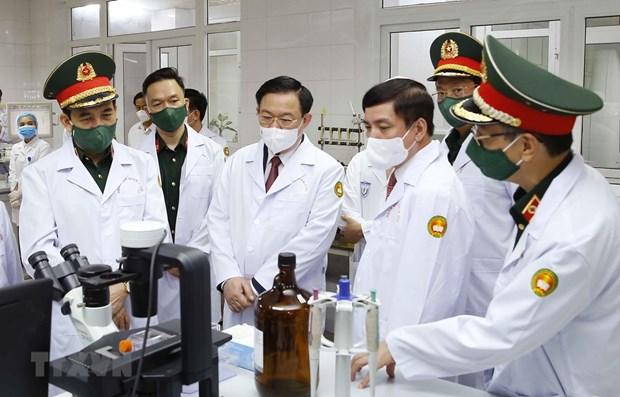 Instan a acelerar ensayos clinicos de vacuna Nano Covax hinh anh 1