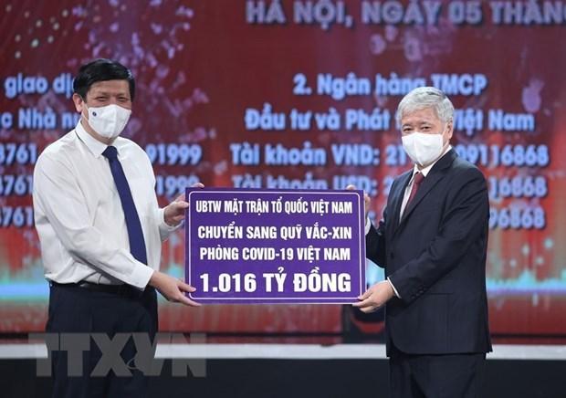 Aprecia Vietnam aportes voluntarios a fondo de vacunas contra COVID-19 hinh anh 1