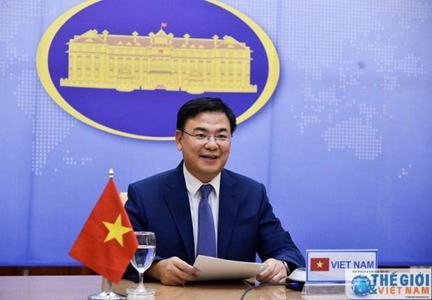 Reciben donaciones de vietnamitas en el extranjero para apoyar lucha contra el COVID-19 hinh anh 1