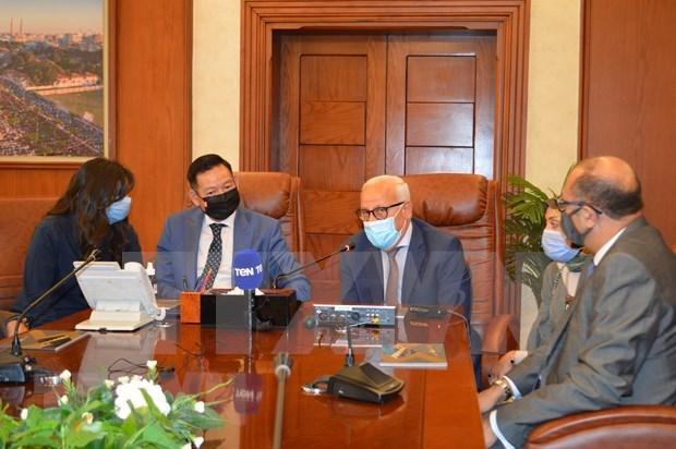 Localidades egipcias buscan promover cooperacion con Vietnam hinh anh 1